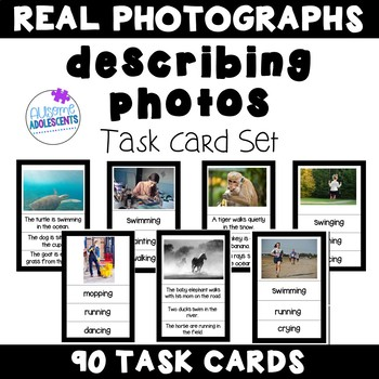 Describing PHOTOGRAPH Task Cards