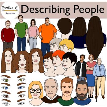 Describing People Clip Art