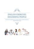 Grade 7/8 English - Describing People Lesson Plan
