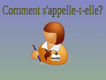 Describing People PowerPoint - French Adjectives