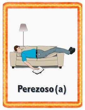 Describing People in Spanish Flashcards / Adjetivos / Adjectives in Spanish
