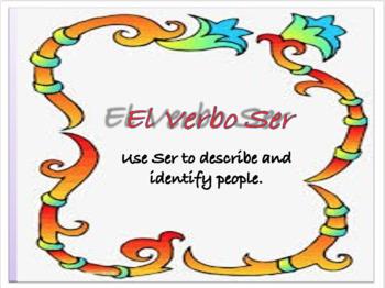 Describing People in Spanish (using Ser)