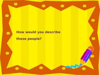 Describing People in Spanish with images - Describir personas