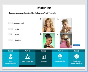 Describing People (interactive activity)