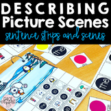 Describing Picture Scenes - Simple Sentences and Syntax