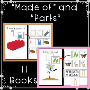 Describing Pictures Adapted Book Bundle for Special Education and Speech Therapy