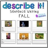 Describing Pictures Expressive/Receptive Writing Task- FALL