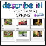 Describing Pictures Expressive/Receptive Writing Task- SPRING