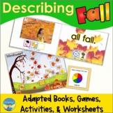 Describing Pictures | Fall Photos | Adapted Books | Senten