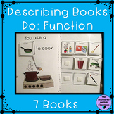 Describing Pictures by Function Adapted Books for Special