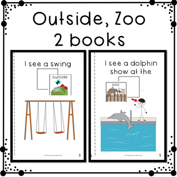 """Describing Pictures by """"Where Do You See It"""" Adapted Books for Special Education"""