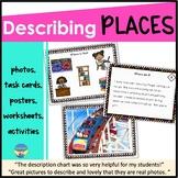 Speech Therapy Photo Activities | Describing Places