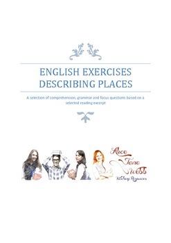 Grade 7/8 English - Describing Places Lesson Plan
