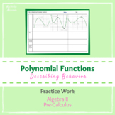 Describing Polynomial Functions (Graphs)