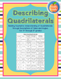 Describing Quadrilaterals