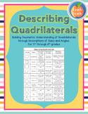 Describing Quadrilaterals