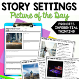 Describing Setting - Picture of the Day Reading Routine