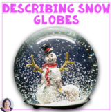 Describing Snow Globes Language Game Cards for speech therapy