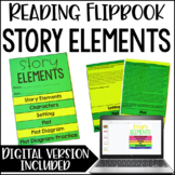 Describing Story Elements Activity  Flipbook *Google Slides™ Included