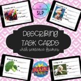 Describing Task Cards with Sentence Frames BOOM CARDS | Di