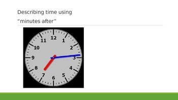 Describing Time to the Minute