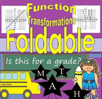 Describing Transformations of f(x) - Function Transformations