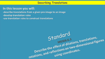 Describing Translations and Developing Translation Rules
