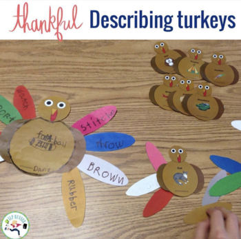 Describing Turkeys -Great for Expanding Expression