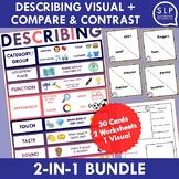 Describing Visual and Compare and Contrast Activity Bundle