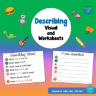 Describing Visual and Worksheet