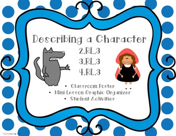 Describing a Character Teaching Packet