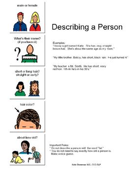 Describing a Person