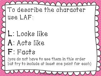 Describing a character