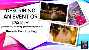 Describing a party- Spanish Essay (preterit and imperfect)