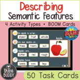 Describing and Identifying Semantic Features BOOM Cards Sp