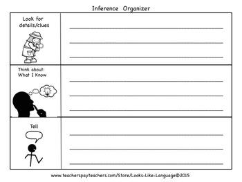 Describing and Inferring Organizers Freebie