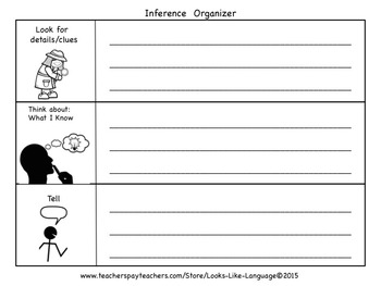 Describing and Inferring Organizers Freebie