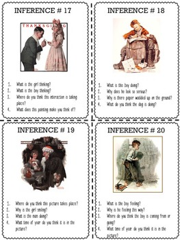 Describing and Inferring Details (Norman Rockwell)