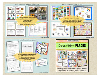 Describing and Inferring Bundle: Places