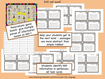 Activities for Describing and Inferring Bundle: Places!