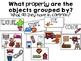 Describing & Sorting Properties of Matter~ Texture Hunt, Picture Sort, QR Codes!