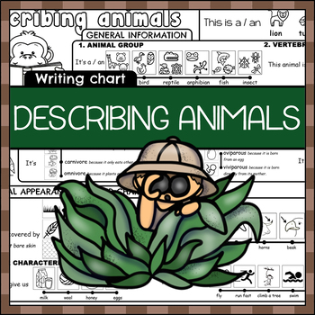 Describing animals Chart