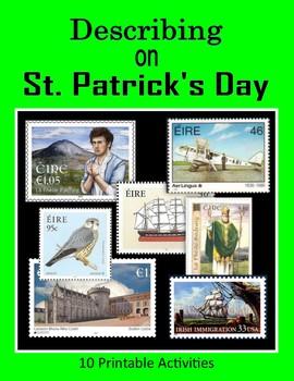 Describing on St. Patrick's Day