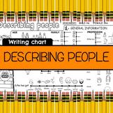Describing people chart