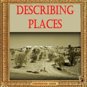 Describing places – ESL adult and kid conversation