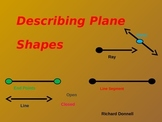 Describing plane shapes