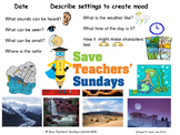 Describing settings to create atmosphere - Myths and Legends (Model and Images)