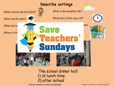 Describing settings to create mood PowerPoint and Model descriptions