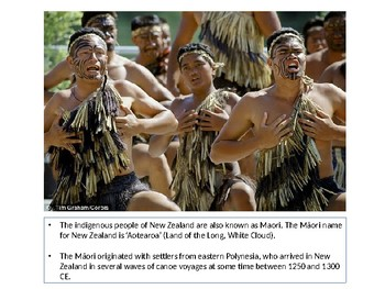 Describing the Haka using the Five Senses