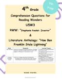Describing the Overall Structure McGraw Hill Reading Wonders Series 4th grade